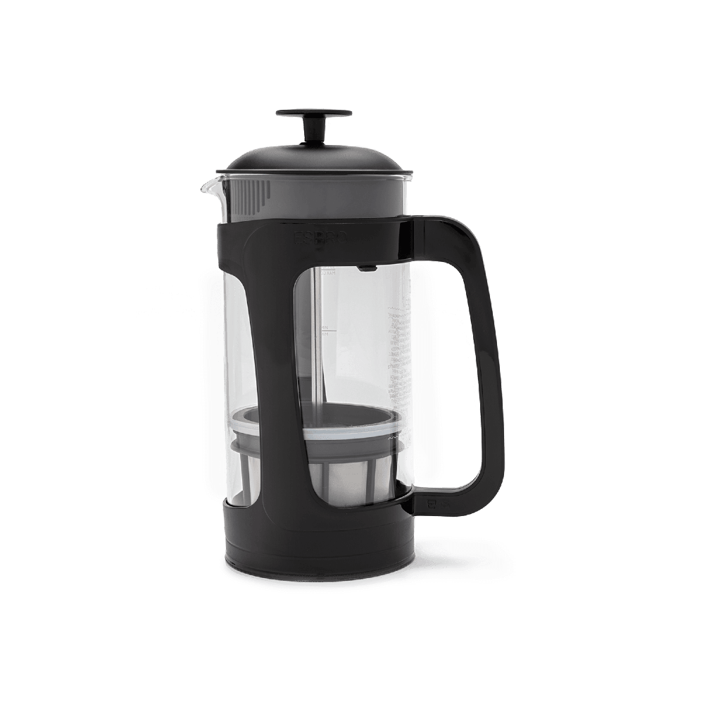 ESPRO PRESS P3-18OZ GLASS AND BLACK PLASTIC